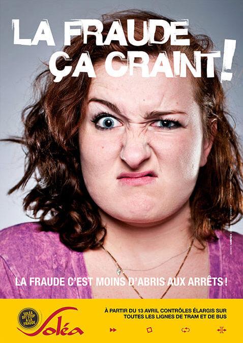 La fraude ça craint, ça pique et c'est moche dans France 3 Alsace