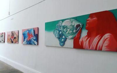 Rencontre de Nesta, artiste du Grenoble Street Art Fest!