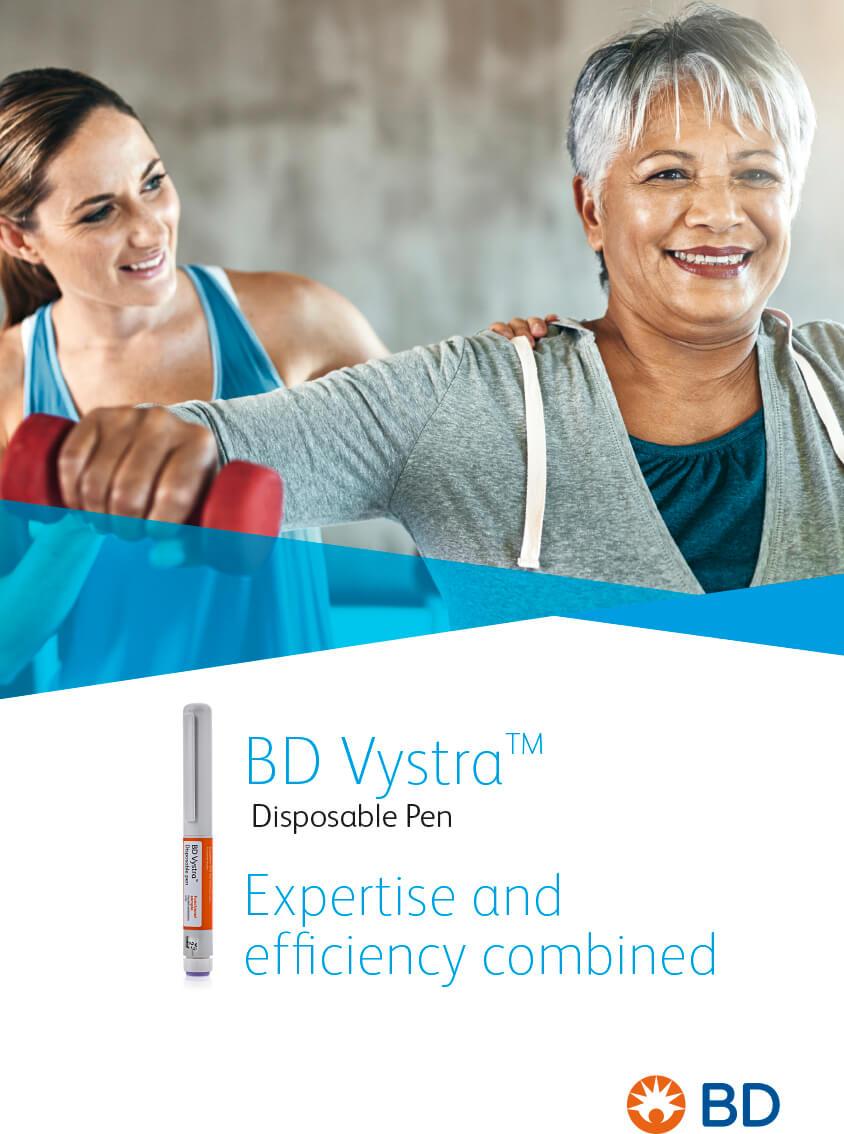 BD VYSTRA - création graphique du lancement de produit par l'Agence MARDI