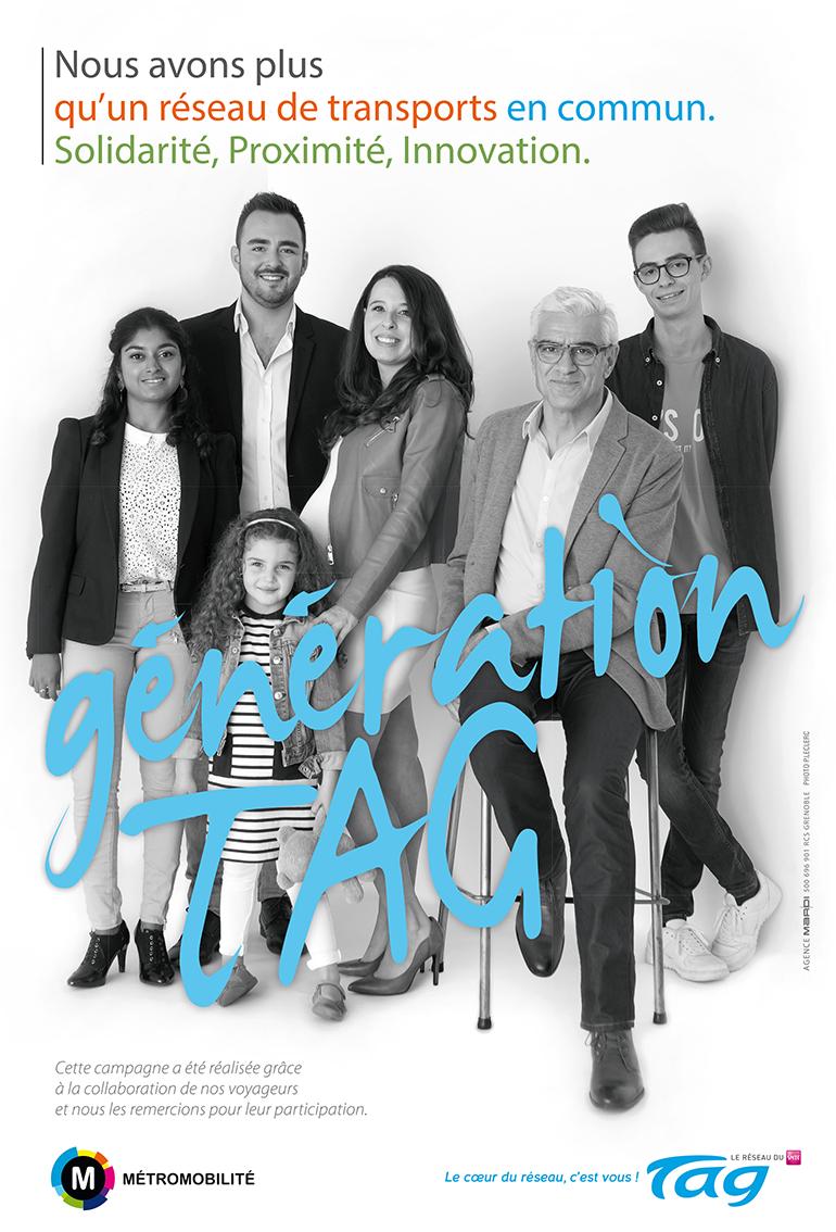 affiche génération Tag ville de Genoble